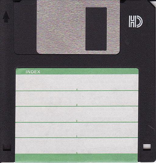 Floppy disk 300 dpi