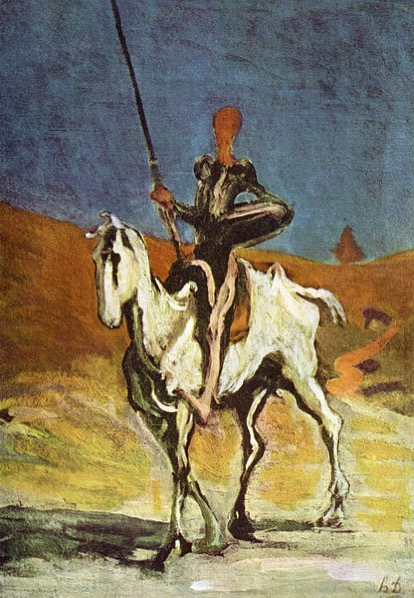 Honore Daumier 017 Don Quixote